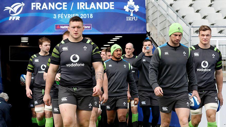 Duelo franco-irlandês na abertura do torneio das 6 nações