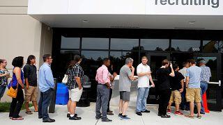 Рынок труда в США на подъёме