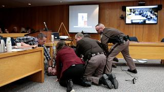 Incident au procès Larry Nassar