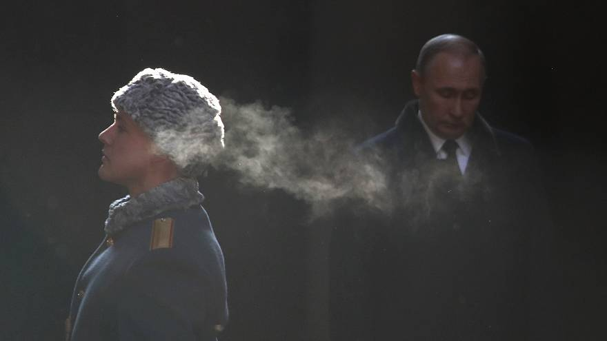 Presidente Putin marcou presença nas celebrações