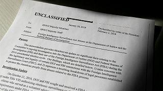 Trump authorises release of classified memo alleging misconduct by FBI