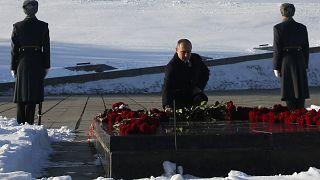 Russland gedenkt der Schlacht um Stalingrad vor 75 Jahren