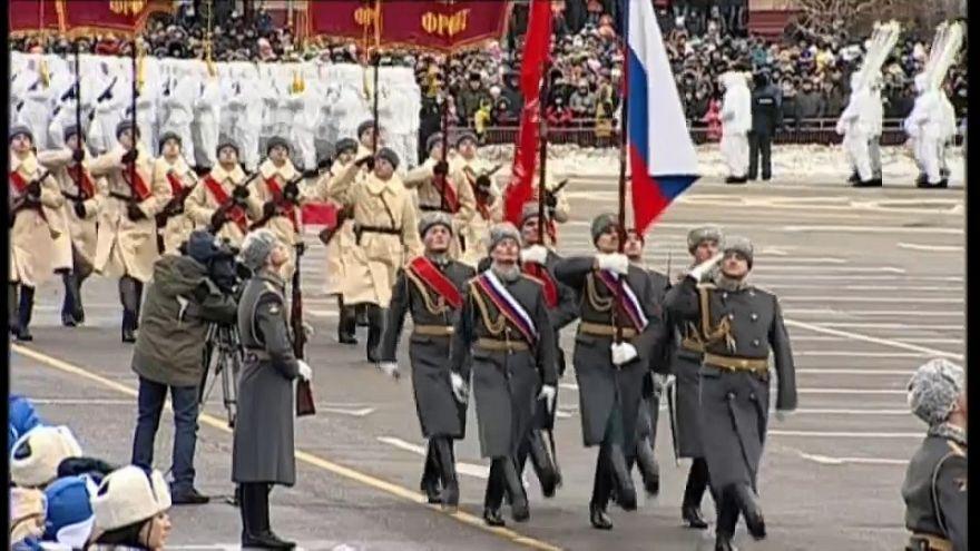 Rusia conmemora el 75 aniversario del fin de la batalla de Stalingrado