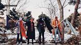 Иранские женщины вышли на бой с хиджабом