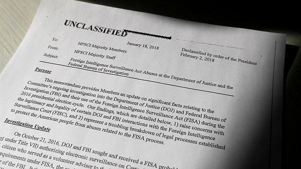 Streit um FBI-Memo: Trump bewilligt Freigabe des umstrittenen Geheimpapiers