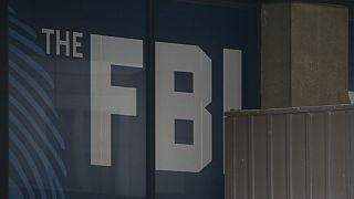 The FBI building is seen in Washington