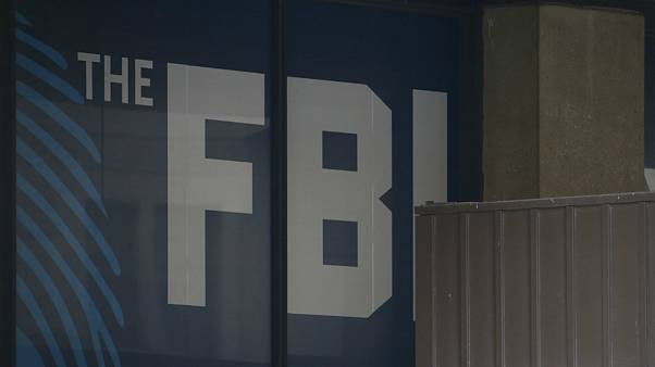 The FBI building is seen in Washington