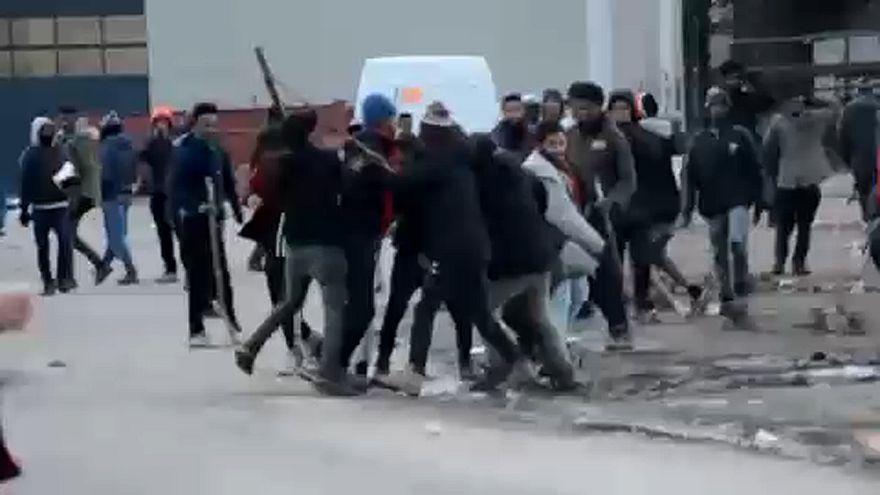 Feszültség Calais-ban