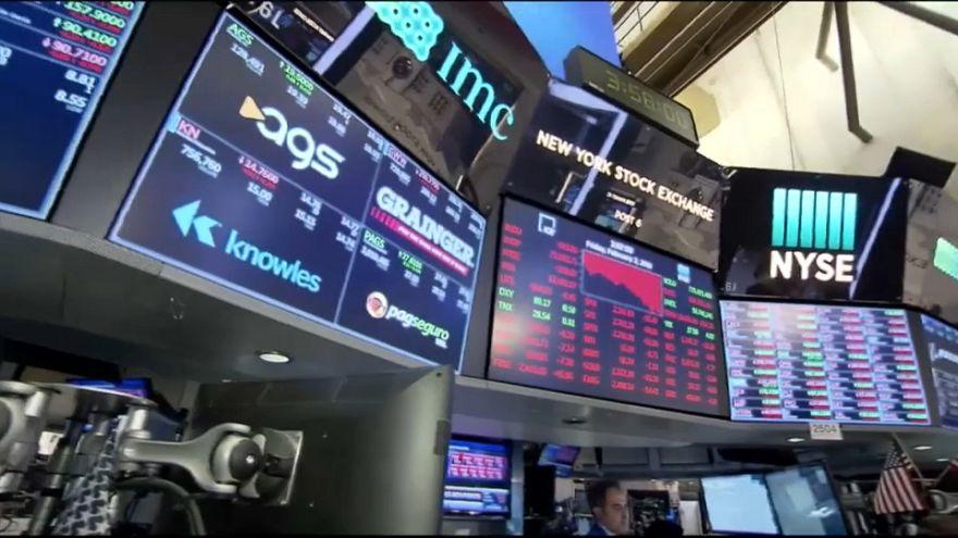 Фондовый рынок США резко упал