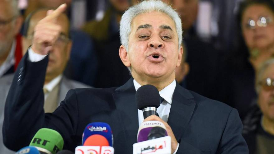 حمدين صباحي، الذي خاض انتخابات الرئاسة في 2014