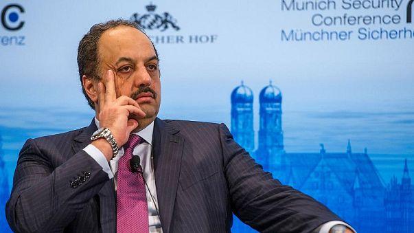 وزير الدفاع القطري  خالد بن محمد العطية