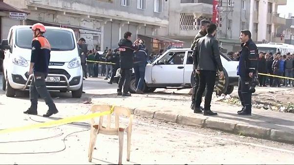 Ракетный удар по территории Турции