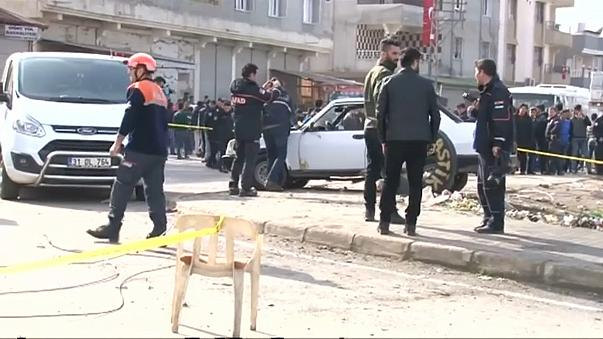 Reyhanlı'ya roketli saldırı