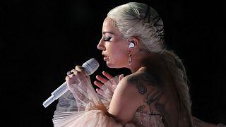 Леди Гага на церемонии «Грэмми»
