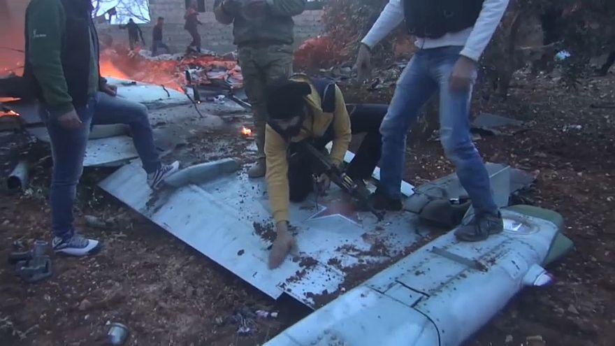 Russisches Militär bestätigt Abschuss von Kampfjet in Syrien