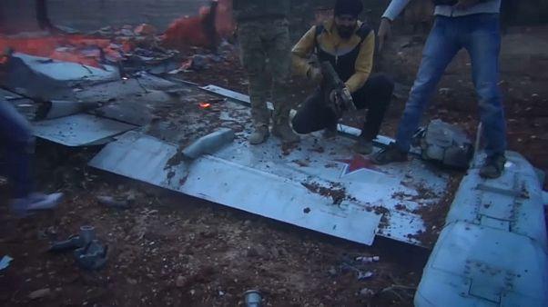 В Сирии сбит российский штурмовик