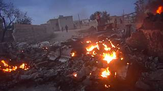 Retaliação russa contra jihadistas em Idlib