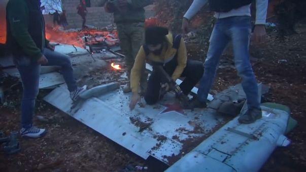 Suriye'de bir Rus uçağı düşürüldü