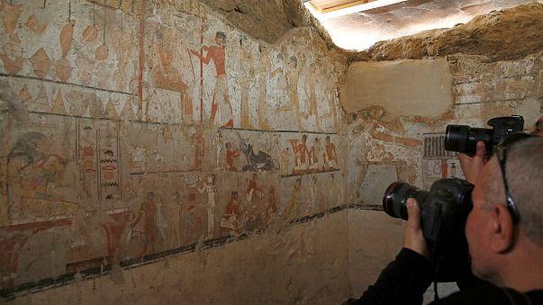 Un nouvelle découverte en Egypte