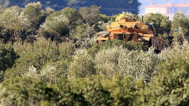 Afrin'de tanka saldırı