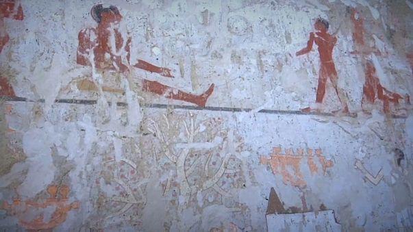 Resultado de imagem para imagens do túmulo descoberto no egito