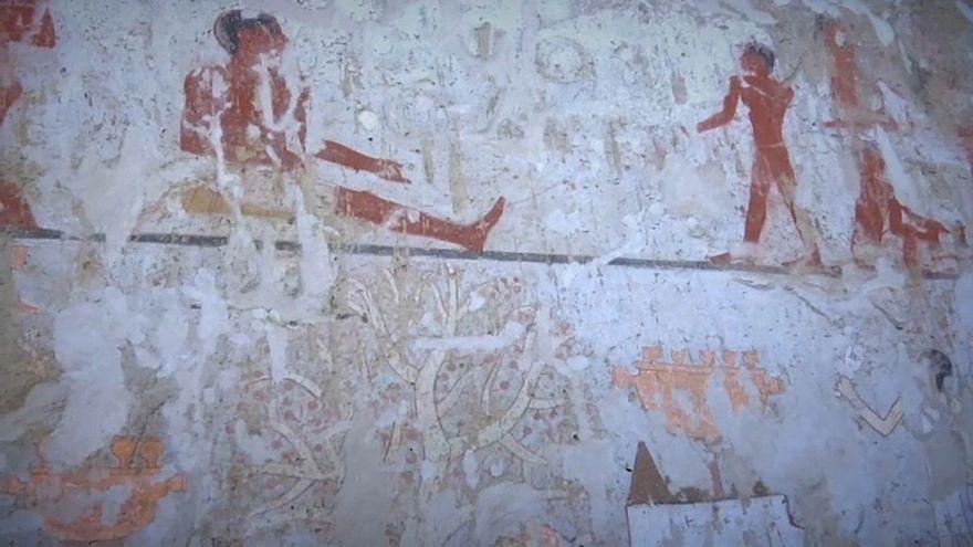 Túmulo com mais de 4 mil anos descoberto no Egito
