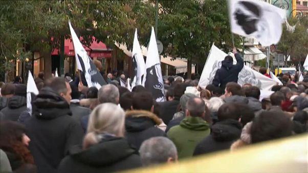 Корсиканские националисты провели демонстрацию