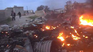 Los rebeldes sirios derriban un caza ruso