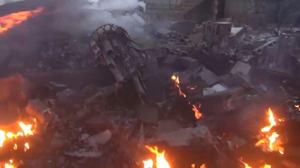 Siria: abbattuto caccia russo su Idlib. Ucciso il pilota