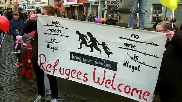 La acogida de los refugiados divide a la ciudad alemana de Cottbus