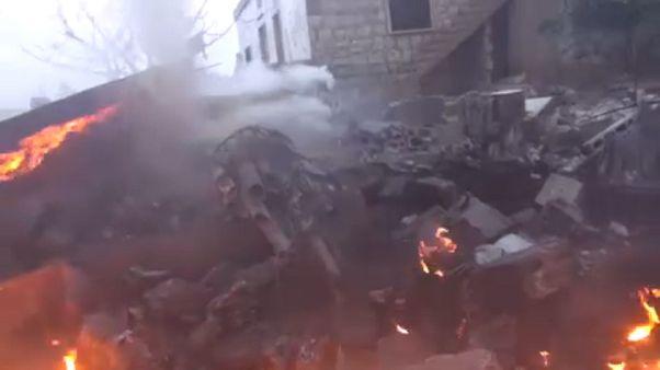 Az orosz gép pilótáját is lelőtték Szíriában