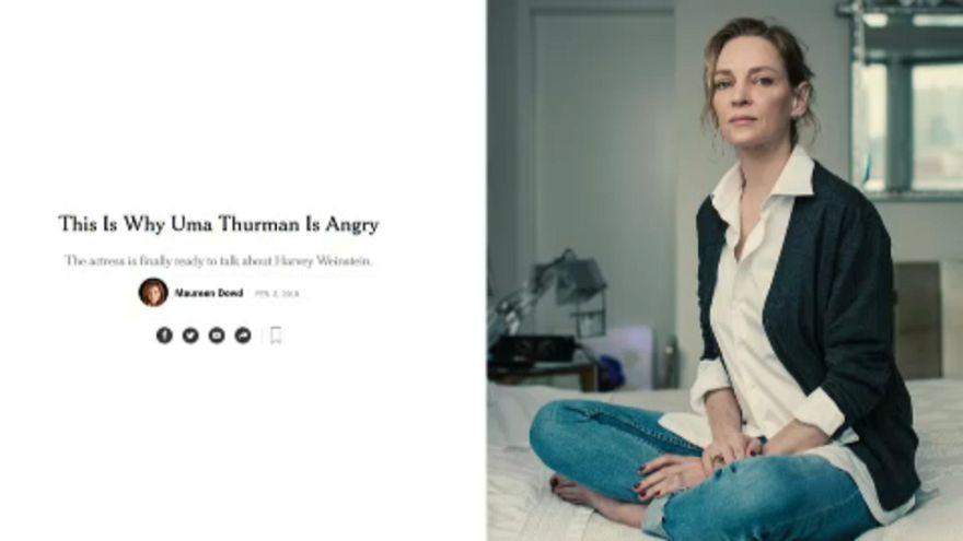Weinstein: Uma Thurman is megszólal