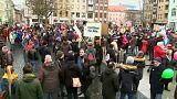 Tüntetések Cottbusban