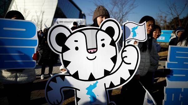 The 2018 PyeongChang Winter Olympics mascot Soohorang