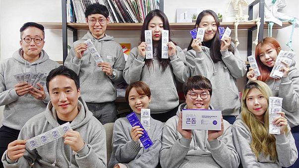 Güney Koreli üretici Convenience Co. firmasının ürettiği prezervatifler