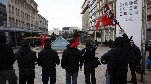 Αντιφασιστικό συλλαλητήριο στα Προπύλαια