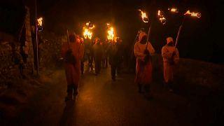 Marsden recria Festival Celta do Fogo