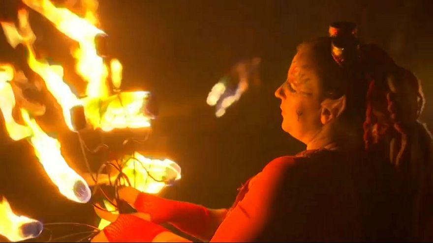 İngiltere'de Ateş Festivali