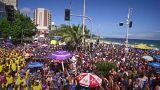A festa do Carnaval no Rio de Janeiro e em Veneza