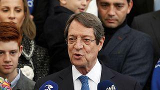 Κύπρος: Επανεκλογή Αναστασιάδη με 56%
