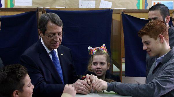 Никос Анастасиадис переизбран президентом