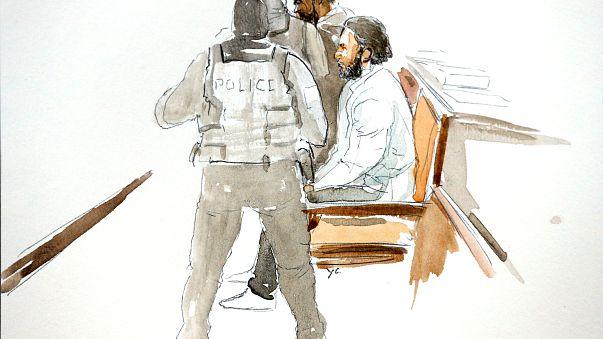 Paris attack suspect faces trial in Brussels