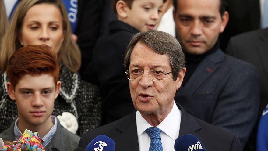 Chypre: Anastasiades remporte la présidentielle