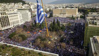 Συλλαλητήριο για τη Μακεδονία: Εντυπωσιακή η συμμετοχή