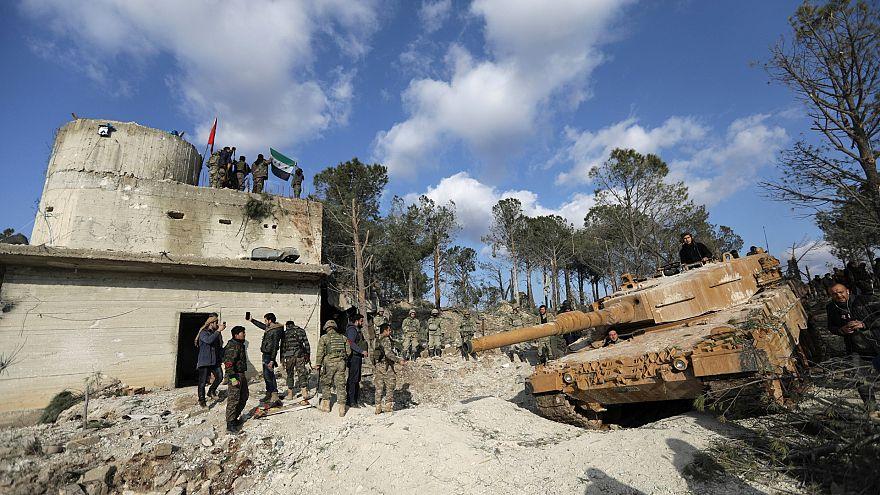 Африн: крупнейшие потери Турции