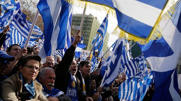 """Le nom """"Macédoine"""" mobilise de nouveau en Grèce"""