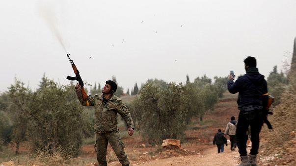 Continúa la ofensiva militar turca contra los kurdos del noroeste de Siria