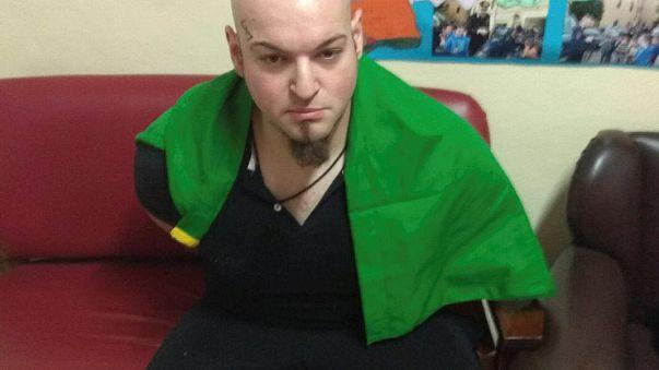 İtalya'da ırkçı saldırgan cezaevine kondu