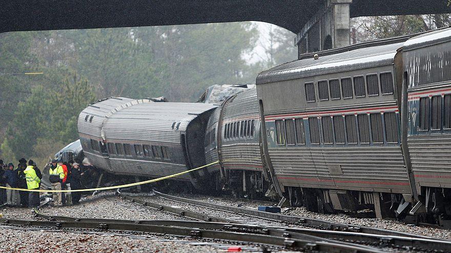 Collision de trains en Caroline du Sud : Amtrak en cause