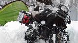 """""""Agnellotreffen"""", avventura nella neve per uomini (e donne) in moto"""